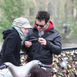 Stock Photo: Near Pont des Arts