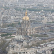 Aerial view of L'Hotel National des Invalides — Stockfoto