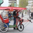 Stock Photo: Rickshaw in Paris