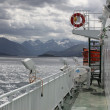 Stock Photo: Sailing onboard ferry boat in North Sea