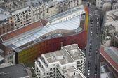 在巴黎的屋顶查看 — 图库照片