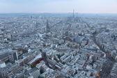 Eiffeltoren en de daken van parijs frankrijk — Stockfoto