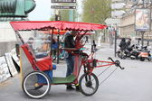 Rickshaw in Paris — Stock Photo