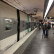 High speed metro in paris - Paris underground — Stock Photo #25665765