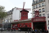 The Moulin Rouge in Paris, France. — Stock Photo