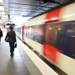 High speed metro in paris - Paris underground — Stock Photo #25784767