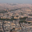 Top view of Paris — Lizenzfreies Foto