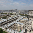Paris seen from the top of montparnasse tower — 图库照片