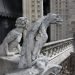 Stock Photo: Chimera on Notre Dame Cathedral