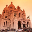 The Basilica of the Sacred Heart of Paris — ストック写真