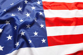 Closeup of American flag — Stock Photo