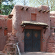 Classic adobe house Pueblo — Stock Photo