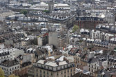 View on Paris form Notre Dame cathedral — Stock Photo