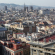 Panoramic view of Barcelona — Stock Photo #27278099