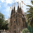 Barcelona, Sagrada Familia cathedral — Stockfoto