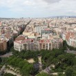 Panorama of Barcelona. Spain — Foto Stock