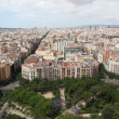 Panorama of Barcelona. Spain — ストック写真