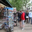 Touristic streets in Barcelona — Foto de Stock