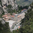 Santa Maria de Montserrat monastery. Catalonia, Spain. — Stock Photo