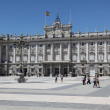 图库照片: Royal Palace at Madrid Spain