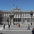 Royal Palace at Madrid Spain — 图库照片
