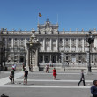 Royal Palace at Madrid Spain — Stockfoto #27306569