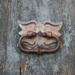 Girona, old door knocker — Stock Photo