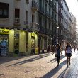 Streets of Zaragoza, Spain — Stock Photo