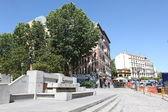 Streets of Madrid, Spain capital — Stock Photo