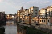 Historical jewish quarter in jirona, province Barcelona, spain, catalonia — Stock Photo