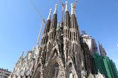 Ла Саграда Фамилия, Барселона — Стоковое фото
