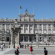 Royal Palace at Madrid Spain — Stockfoto #27824341