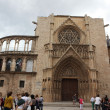 Valencia Cathedral dedicated to Virgin Mary. — 图库照片