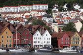 BERGEN, NORWAY - CIRCA JULY 2012: Views of city circa July, 2012 in Berben — Stock Photo