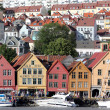 BERGEN, NORWAY - CIRCA JULY 2012: Views of city circa July, 2012 in Berben — Foto Stock