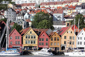 BERGEN, NORWAY - CIRCA JULY 2012: Views of city circa July, 2012 in Berben — Stock Photo