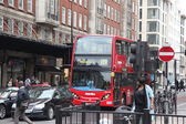 City bus in London — Stock Photo