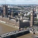 Big Bena i budynki Parlamentu w Londynie, Wielka Brytania — Zdjęcie stockowe #29928627