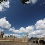 Big Bena i budynki Parlamentu w Londynie, Wielka Brytania — Zdjęcie stockowe