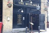 LONDON - JUNE 6: the old Mudlark pub in London, UK — Stock Photo
