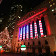 Stock Photo: NEW YORK CITY - JAN 3: Wall Street New York Stock Exchange