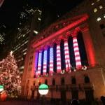 NEW YORK CITY - JAN 3: Wall Street New York Stock Exchange — Stock Photo #30164851