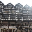 Stock Photo: Tudor style buildings in Chester, UK