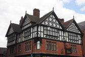 Tudor styly buildings in Chester, UK — Stock Photo