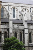 Element of exterior decor of the cathedral in London — Photo