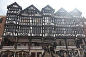 Tudor style buildings in Chester, UK — Stock Photo
