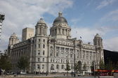 Liverpool Liver Building — Stock Photo