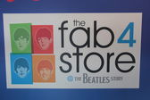 Beatles store in Liverpool — Стоковое фото