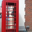 The Red telephone box — Photo