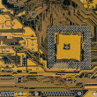 Computer board, high resolution image — Stock Photo